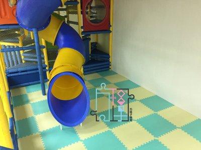 【方格子地墊】100%台灣製 巧拼地墊 地墊 安全墊 遊戲墊 爬行墊 64*64*2.3cm一組12片$2380(免運)
