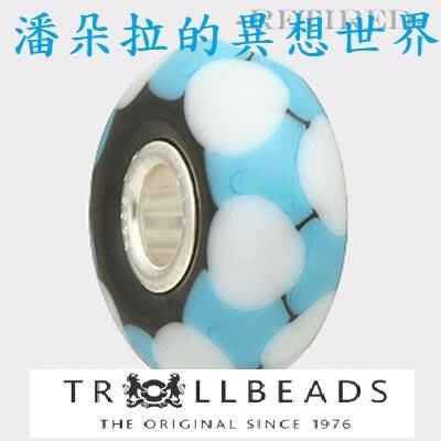 @ {{ 潘朵拉 的異想世界 }} 丹麥 trollbeads 絕版  Rod bead 琉璃 TGLBE-10315