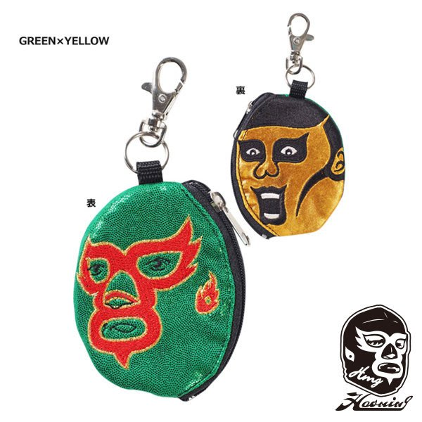 『Haoming』預購 HAOMING × Punk Drunkers 零錢包 Green x Gold