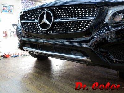 Dr. Color 玩色專業汽車包膜 M-Benz GLC300 黑carbon/高亮黑_氣壩鍍鉻/後視鏡/窗框/手把