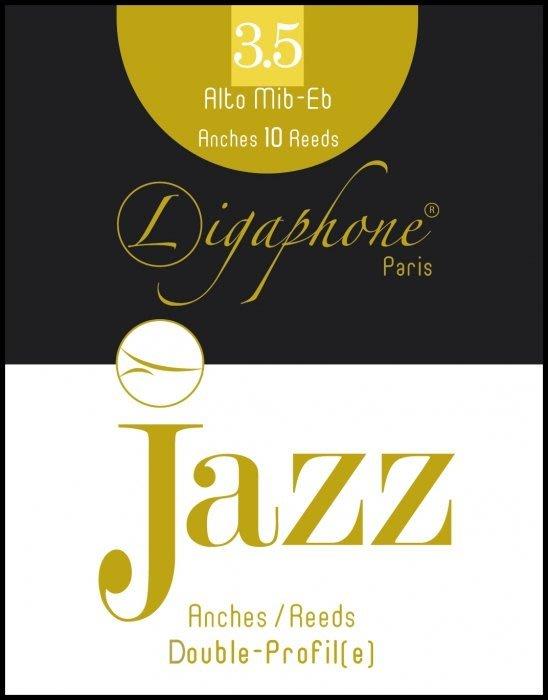 §唐川音樂§【Ligaphone Jazz Double-Profile Alto Sax Reed 中音竹片10片裝】