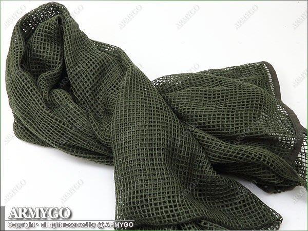 【ARMYGO】美軍 軍綠色偽裝布 90 x 190 (公分)