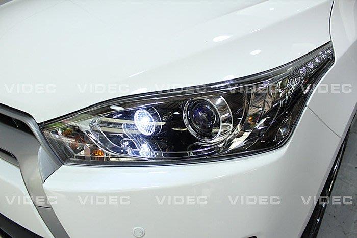 巨城汽車精品 TOYOTA 豐田 14 NEW YARIS LED 小燈 牌照燈 新竹 威德