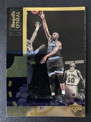 Shaquille O'Neal 1994-95 Upper Deck Special Edition Gold
