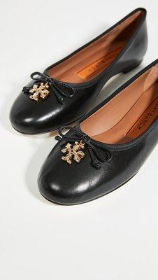 【全新正貨私家珍藏】TORY BURCH Tory Charm Ballet Flats   芭蕾平底鞋 新款