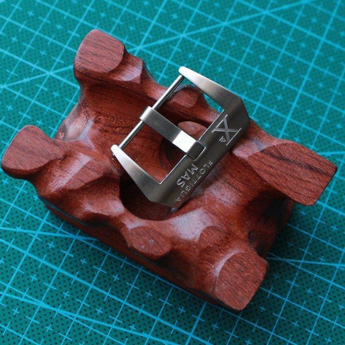 手錶配件 飾品 錶帶 錶扣 X-MEN 316精鋼表扣 22MM 24MM 26 復古風格 二戰 陸戰隊 小沛表扣