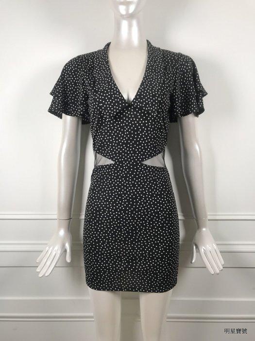 [我是寶琪] HEIDI'S SECRET 波點紗腰間復古洋裝