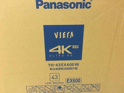 Panasonic 國際牌43吋4k TH-43GX600W