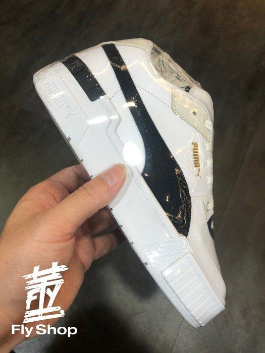 [飛董] PUMA CALI SPORT HERITAGE WN'S 厚底 休閒鞋 女鞋 373080-01 白黑