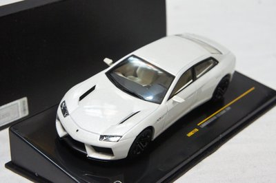 【特價現貨】1:43 IXO Lamborghini Estoque 200 Concept Car 2008 白色