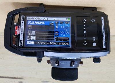 【車車共和國】SANWA 三和 M17 槍型遙控器 高階 彩色液晶  RX-491(單接收)