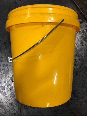 給郵局寄送 二手pp塑膠水桶 化學液體 盆栽園藝 收納置物 家用提水桶 油漆桶 直徑29高34 23公升