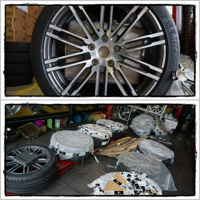PORSCHE CAYENNE MACAN PANAMERA 原廠鋁圈 選配精品 陶瓷煞車 下護板 腳踏墊 油箱蓋