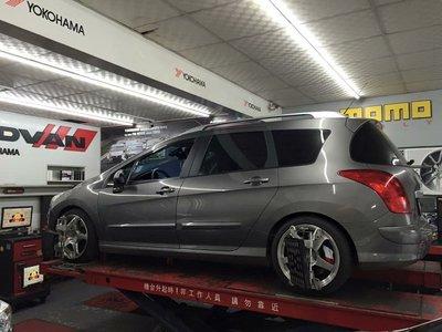 【新竹進發輪胎車業】 KONI SPORT 1140 哥尼避震器 PEUGEOT 308SW