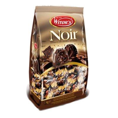 (漾霓)-代購~2包特價/ Witors 焦糖可可豆黑巧克力 每包 1公斤-115173 (代購商品 下標詢問現貨)