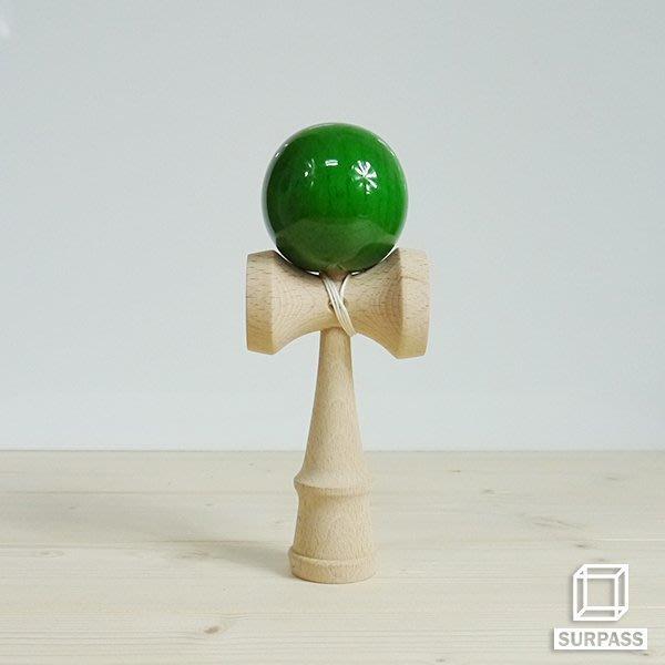『Surpass』木質劍玉劍球 Wood ball 木紋球系列 墨綠木紋