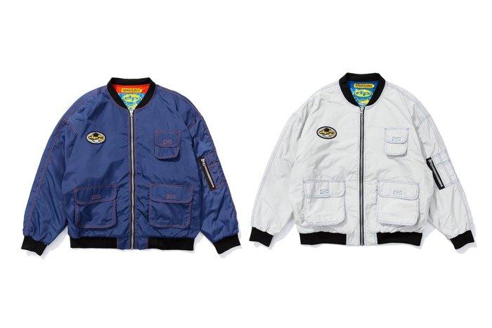 { POISON } PRETTYNICE DPPN W.S.S. MA1 JACKET 經典飛行夾克外套
