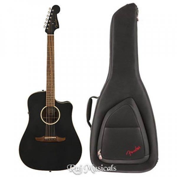 【名人樂器】Fender Redondo Special全單 EQ 民謠吉他 含原廠超厚琴袋