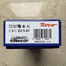 Roco 72167 232 TC 415 DCC 數碼音效功能