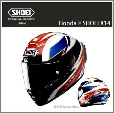 【現貨】日本直送 聯名款 Honda×SHOEI X14 X-14 X-Fourteen 彩繪 全罩式 安全帽 重機