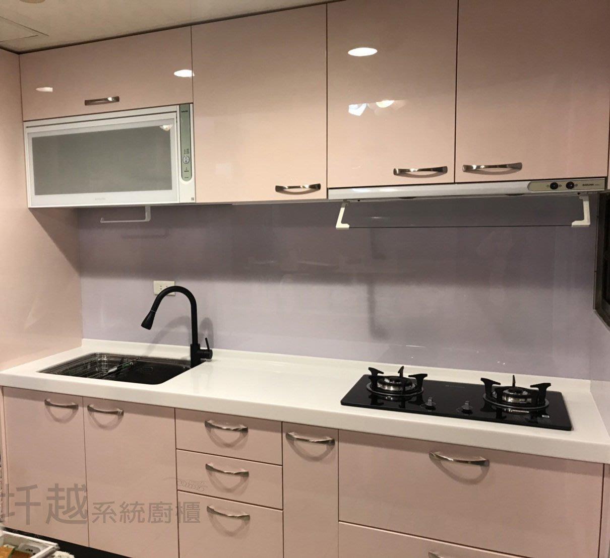 廚具三萬up~美耐+不鏽鋼+人造石檯面 促銷中*快洽~圲越系統廚櫃*