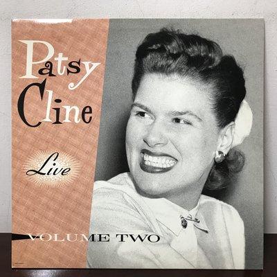 晨雨黑膠【西洋】美版/Patsy Cline – Live Volume Two(Remastered,Promo版)
