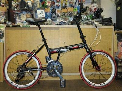 【愛爾蘭自行車】IRLAND 八代 SHIMANO 27速 451輪組 鋁合金 折疊車 摺疊車 高雄 冠鑫自行車