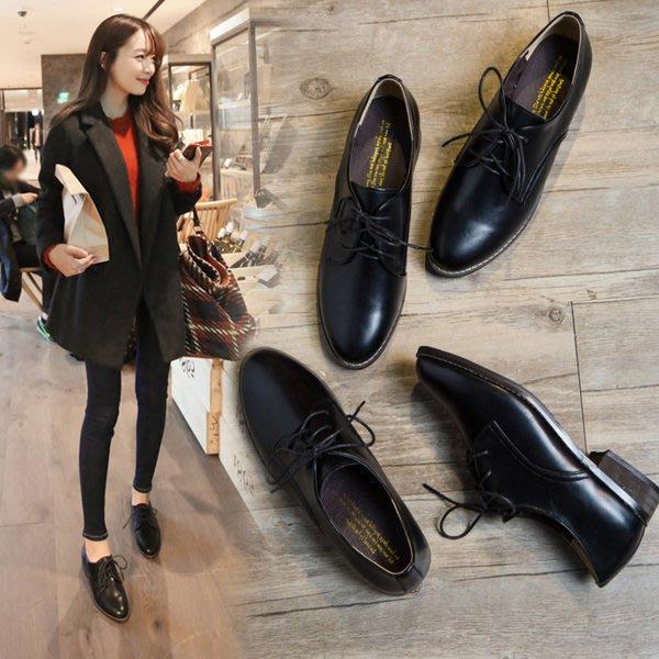 =WHITY=韓國FUPA品牌 韓國製  低跟經典軟皮美腿牛津鞋四季百搭推薦   S6LE872