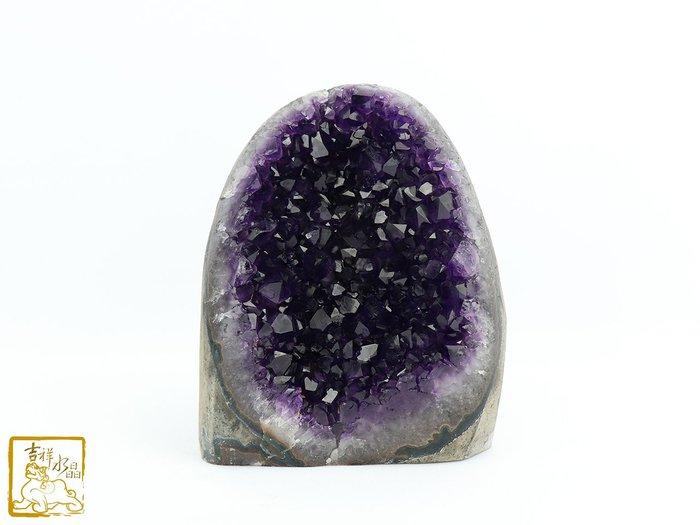 強化磁場-紫晶片 頂級烏拉圭  重473g【吉祥水晶專賣店】 編號AR88