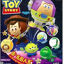 扭蛋 全新 迪士尼 反斗奇兵 Q版人形橡根收納掛鉤 巴斯光年 一款Disney Toy Story Buzz Lightyear
