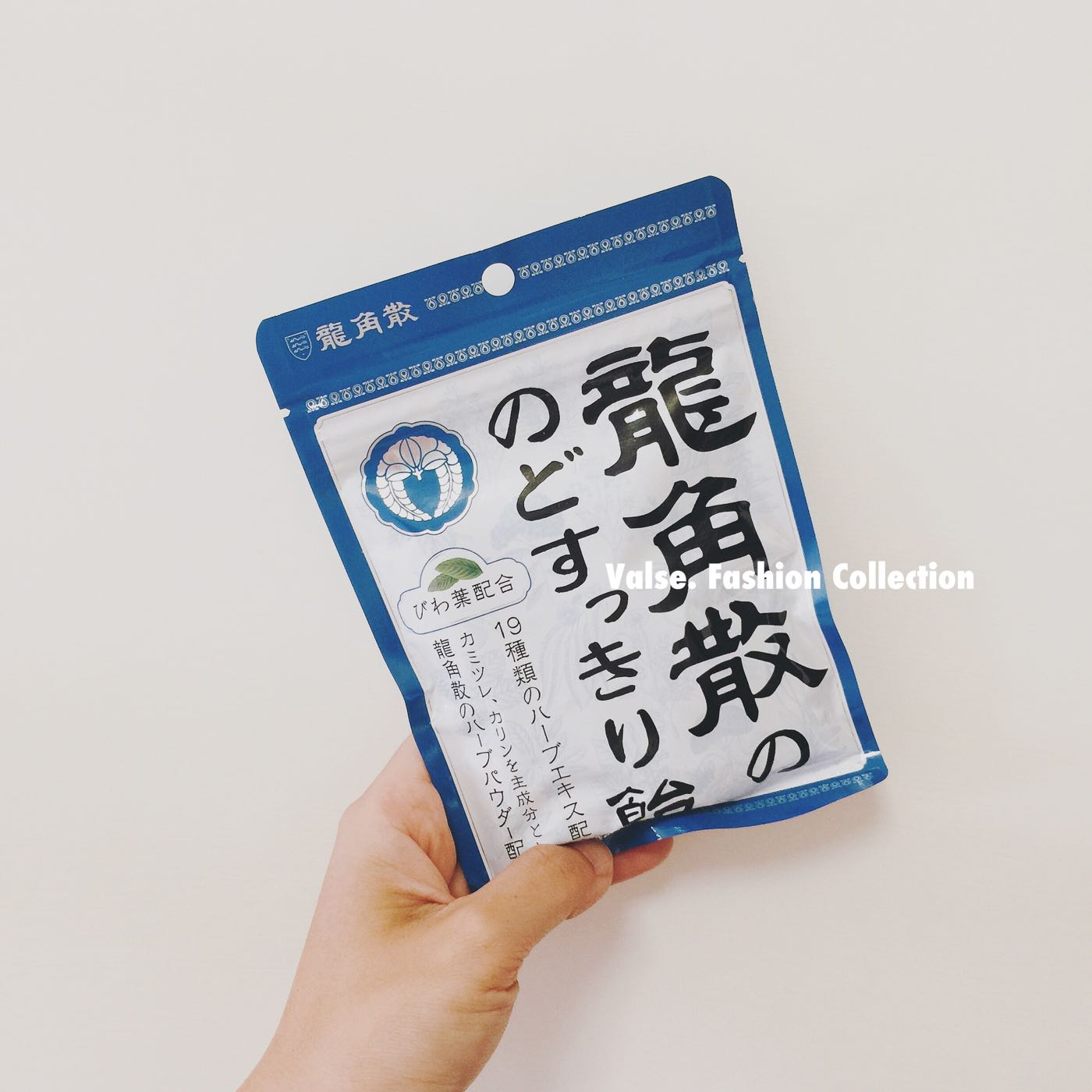 ⭐️現貨⭐️日本龍角散袋裝喉糖 薄荷草本喉糖100g