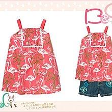 【B& G童裝】正品美國進口GYMBOREE 紅鶴圖樣長版式背心上衣6,7yrs