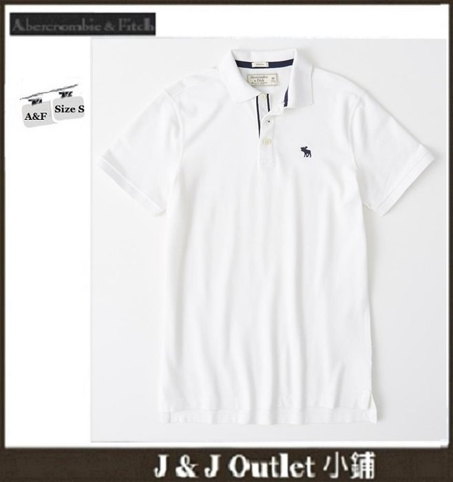 [JJ Outlet 小舖 A&F 特賣]100%真品全新Abercrombie&Fitch Polo 衫(S號)