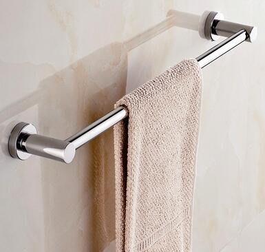 7093A 歐式 簡約壁掛304不鏽鋼毛巾架50CM 毛巾掛架置物架浴巾架不鏽鋼壁掛架衛浴用品架