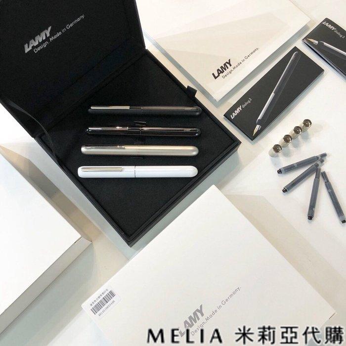 Melia 米莉亞代購 LAMY 凌美 0216 19ss 焦點系列 選轉墨水鋼筆 靜音打造 無蓋墨水筆 EF-0.5
