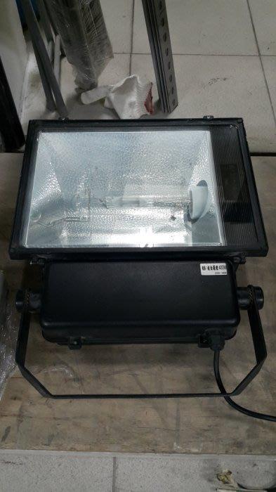 樂居二手家具*X51124-37 複金屬投光燈-400W*戶外照明燈 投射燈 探照燈 燈具 二手家電買賣/冰箱/洗衣機