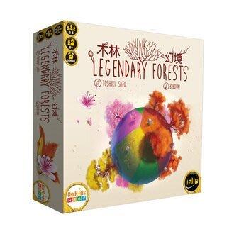 大安殿實體店面 木林幻境 Legendary Forest 正版益智桌上遊戲