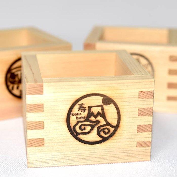 富士山 日本清酒 檜木 木杯 枡杯 酒杯 日本製 木質香氣