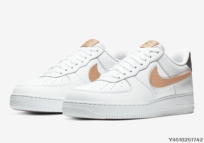 Nike Air Force 1 Low Removable Swoosh CT2253-100 CT2252-001慢跑休閒男女鞋