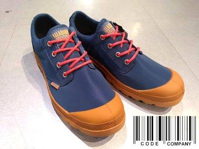 =CodE= PALLADIUM PAMPA OX PUDDLE LT+ WP 防水輕量軍靴(藍紅)76116-482男