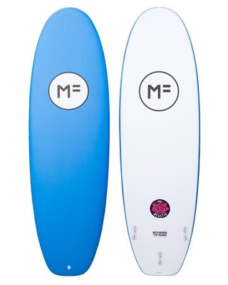 衝浪軟板 MF Soft Boards THE BEASTIE FCSII 9'0 Blue