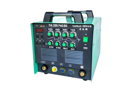 【TAIWAN POWER】清水牌 - TIG-200P AC/DC 變頻交直流氬焊機  可焊鋁氬焊機