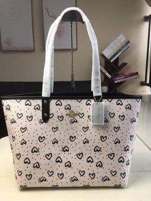 ㊣國際品牌COACH庫㊣美國代購COACH 91151 4月新品【2件免運】雙面兩用子母購物袋 購物包 大號媽咪包托特包