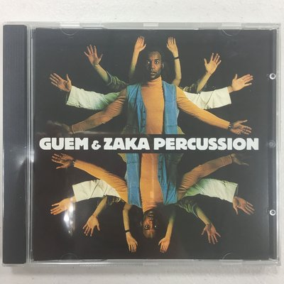 Guem ET Zaka Percussion CD 全新未拆