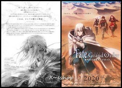 X~日本動畫-[劇場版Fate Grand Order 神聖圓桌領域卡美洛]-日本電影宣傳小海報2019