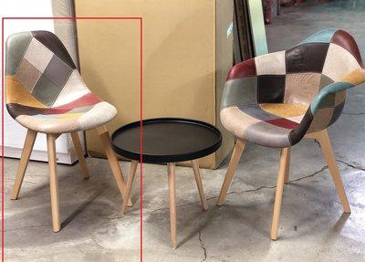 【zi_where】*Eames~ 拼布設計伊姆斯餐椅/伊莫斯/會客椅/展示椅 復刻品$1960