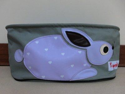 加拿大3Sprouts-嬰兒推車置物袋(紫色兔子) 高雄市