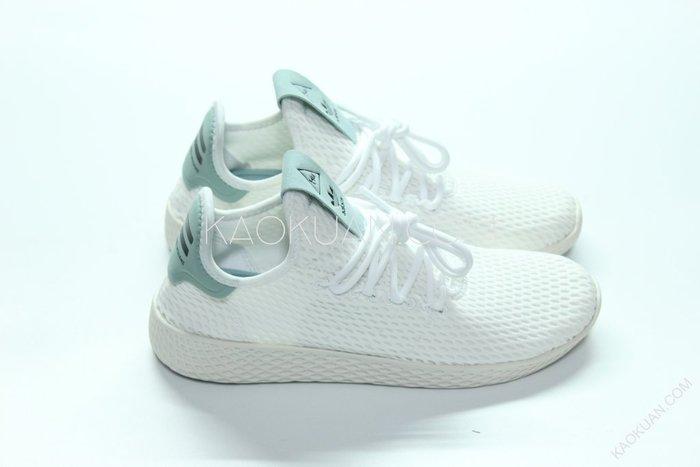 【高冠國際】Adidas PW HU Tennis 白綠 粉綠 菲董 聯名 網眼 BY8716