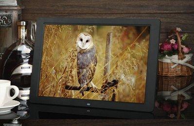 新款15吋寬屏15寸 數位相框 電子相框 相冊 窄邊 節能 高清屏 全格式支援 MP3 MP4 喇叭 鬧鐘 遙控器