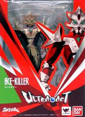 日本正版 萬代 ULTRA-ACT 超人力霸王 Ace Killer 可動 模型 公仔 日本代購